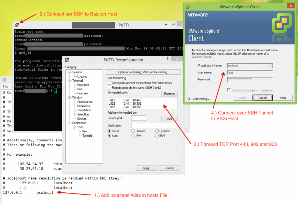 nux - How to download a file from server using SSH