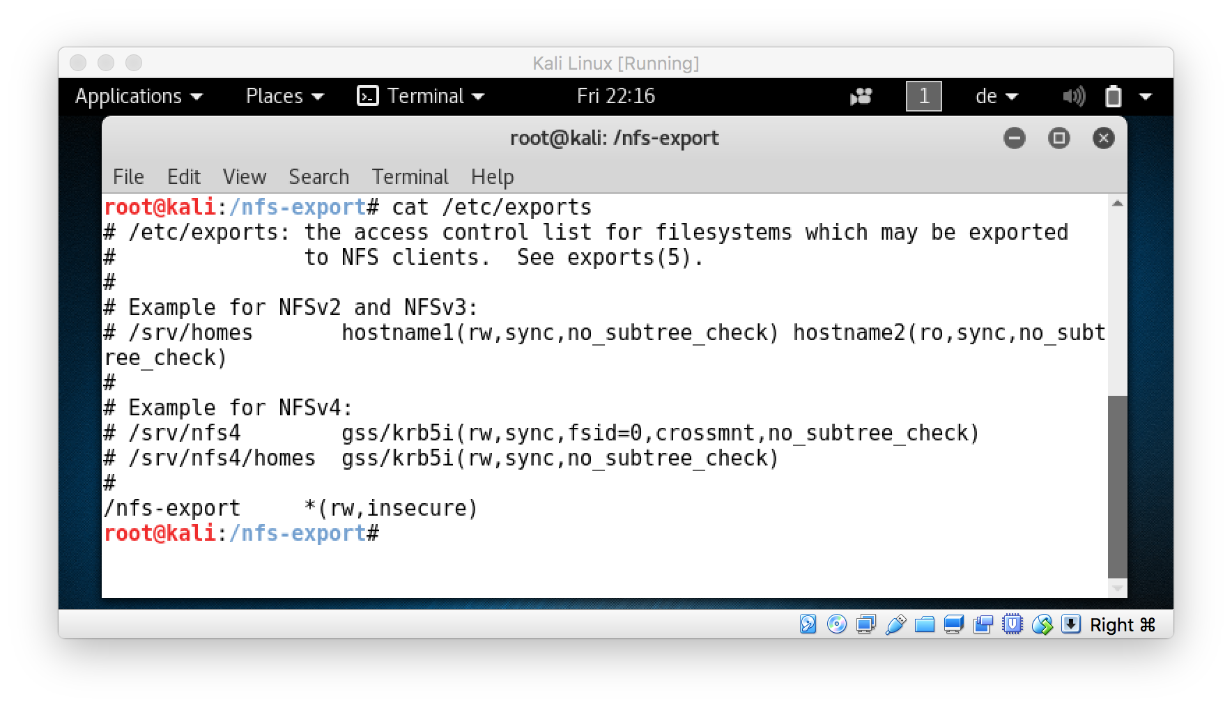 Mac OS X » #bogner sh